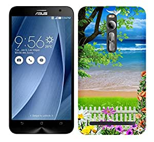 WOW Printed Designer Mobile Case Back Cover For Asus Zenfone 2 Deluxe ZE551ML