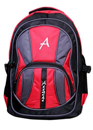 Attache-Premium-School-Bag-Laptop-Bag-Red-Black
