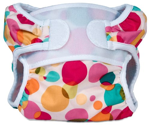 Bummis Swimmi Cloth Diapers, Bubbles, Medium (15-22 lbs) (Discontinued by Manufacturer) - 1