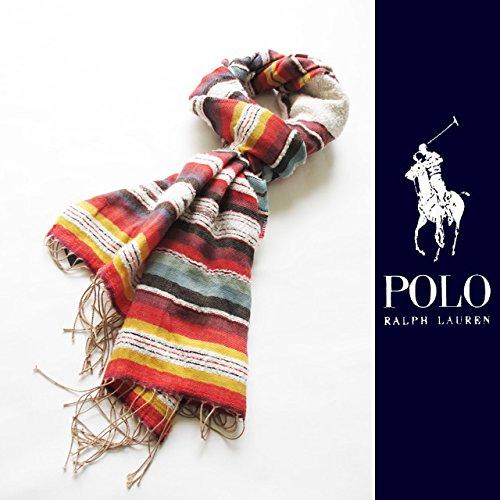 Polo Ralph Lauren(ポロ・ラルフローレン)Southwestern Scarf ネイティブスカーフ[並行輸入品]