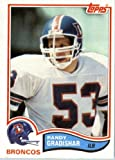 1982 Topps # 79 Randy Gradishar Denver Broncos Football Card - In Protective Screwdown Display Case! at Amazon.com