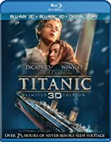 Titanic (Four-Disc Combo: Blu-ray 3D / Blu-ray / Digital Copy) from Paramount