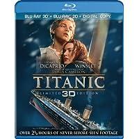 Titanic (Four-Disc Combo: Blu-ray 3D / Blu-ray / Digital Copy)