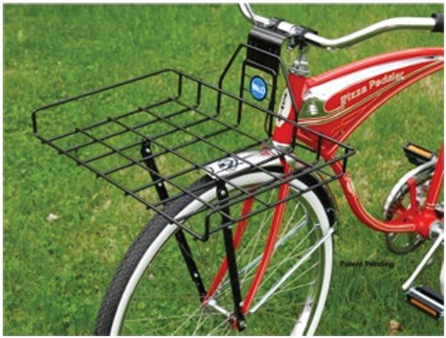 Wald 257 Multi-Fit Front Pizza Box Bicycle Basket front-622734
