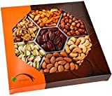 Five Star Gift Baskets Holiday Gourmet Food Nuts Gift Basket, 7 Different Nuts