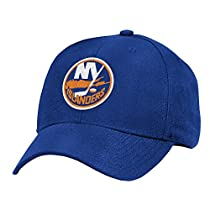 NHL New York Islanders Basics Structured Adjustable Cap, One Size, Royal