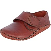Scarpa Italia Maroon Genuine Leather Soft Sole Baby infant shoe Boys (19)