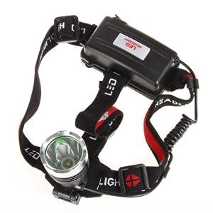 SecurityIng XM-L T6 LED 1600 Lumens Waterproof Headlight Bright LED Lighting