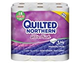 Quilted Northern Ultra Plush Double Rolls (18 Rolls) (Packaging May Vary)