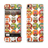 Apple iPod Touch 5th Gen Decalgirl skin - Owls Family - High quality precision engineered skin sticker for the iPod Touch 5 / 5g / 5th generation (16gb / 32gb / 64gb) latest model launched in 2012 / 2013