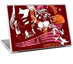 Zing Revolution Maroon 5 Premium Vinyl Adhesive Skin for 13-Inch Laptop (ms-M520010)