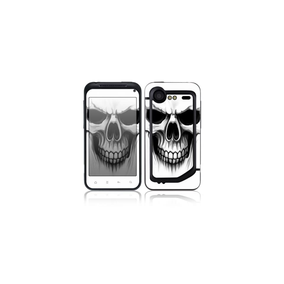 The Devil Skull Design Decorative Skin Cover Decal Sticker for HTC Incredible S / Incredible 2 Cell Phone