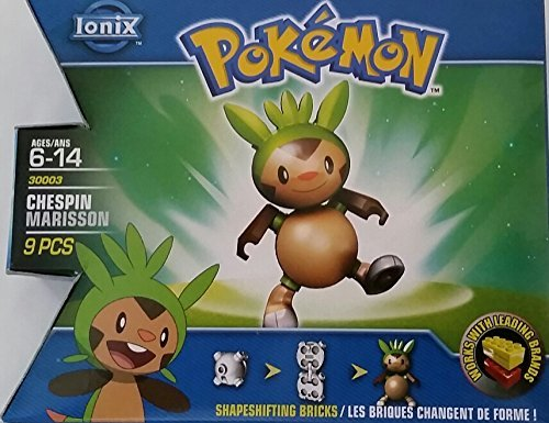 Pokemon - Chespin/Marisson by Ionix