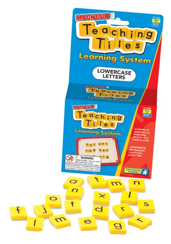 Magnetic Teaching Tiles - Lowercase