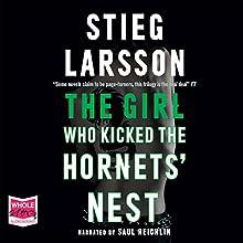 The Girl Who Kicked the Hornet's Nest | Livre audio Auteur(s) : Stieg Larsson Narrateur(s) : Saul Reichlin
