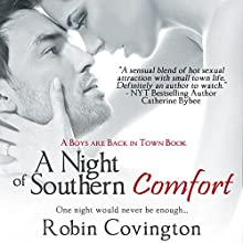 A Night of Southern Comfort (       UNABRIDGED) by Robin Covington Narrated by Esmé Everett