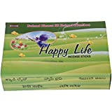 Woodlands Happy Life Bamboo Incense Sticks (200 G, Pack Of 12)