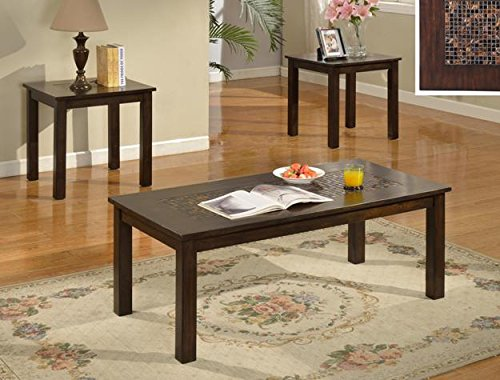 Brand New 3-pk Starfire Coffee Table and End Tables Cocktail set