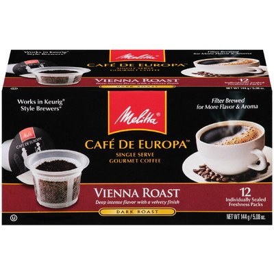 Vienna Hard Pod Coffee (Set Of 12)