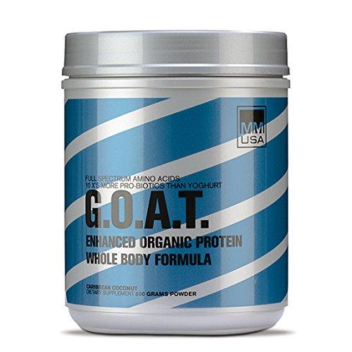 MMUSA Goat Protein Whole Body Formula Diet Supplement Powder, Havana Banana, 500 Gram