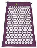 The Purple Shakti Mat (Bed of Nails Mat) 100% Cotton, Most Acupressure Points...