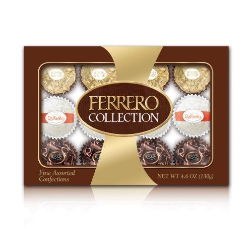 Ferrero Collection Rondnoir  Hazelnut Center