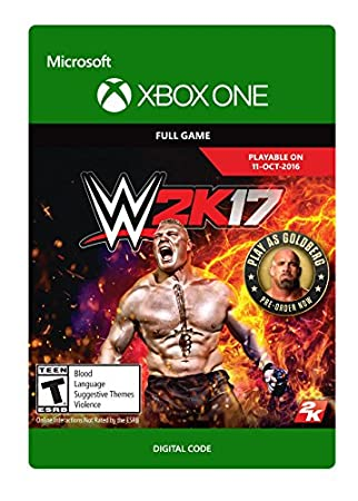 WWE 2K17 - Pre-Load - Xbox One Digital Code