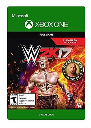 WWE 2K17 - Pre-Load - Xbox One Digital Code