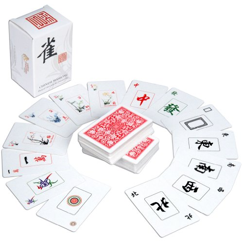 Chinese Traditional Mahjong Playing Cards - 144 Card Set