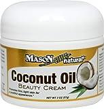 Mason Naturals Coconut Oil Beauty Cream-2 Oz Cream