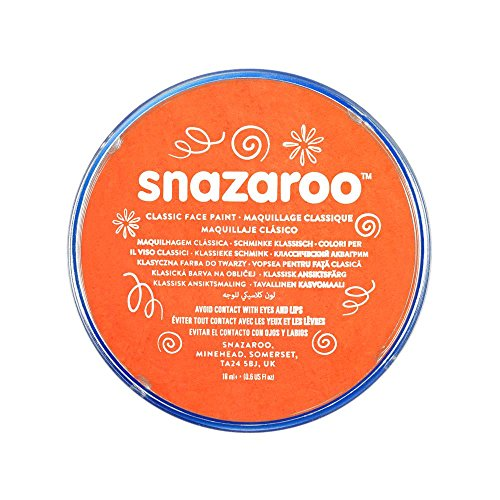 snazaroo-face-and-body-paint-18-ml-orange-individual-colour