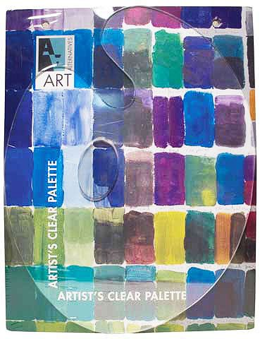 Art Alternatives Clear Oval Palette 12x16 Inch