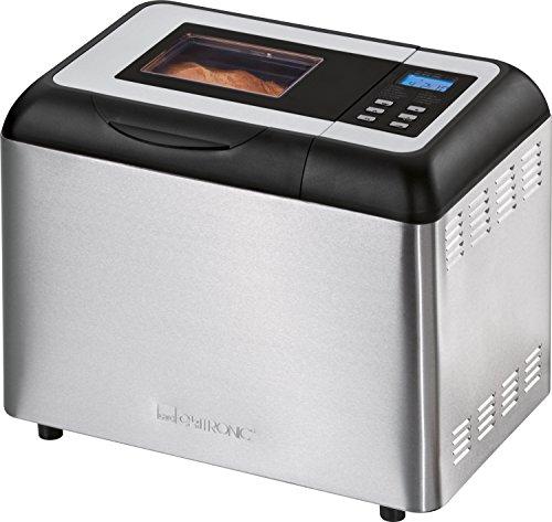 Clatronic BBA 3365 Machine à Pain Automatique Anti Adhésive 2 L
