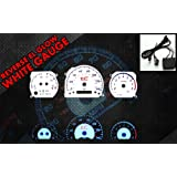Brand New White Face Blue Indigo Reverse Glow Gauges For 05-09 Scion tC MT (RIG-TC-MT) (Color: White-Bule)