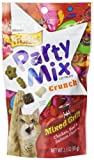 Friskies Party Mix Mixed Grill Crunch Cat Treats With Chicken, Beef and Salmon Flavors, 2.1ounce - Pouch (Pack of 10)