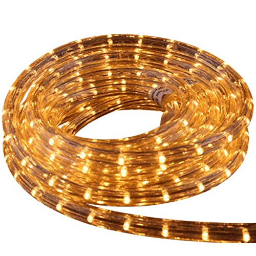 75 Feet of LED Rope Light in Warm White 2700K (Rope Lights 75 Feet compare prices)