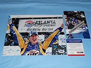 Kurt Busch Autographed Picture - Cool! 8x10 Racing Proof! C - PSA DNA Certified -... by Sports Memorabilia
