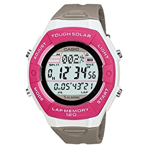 [カシオ]CASIO 腕時計 SPORTS GEAR スポーツギア ランナーズモデル タフソーラー ラップ・スプリットタイム最大120本メモリー LW-S200H-4AJF