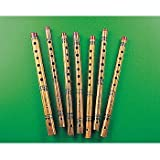 Fun Express Bamboo Flower Print Flute (12 Count)