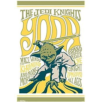 Star Wars- Grand Master Yoda Poster 24 x 36in