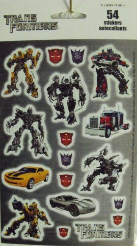 Transformers 54 Stickers