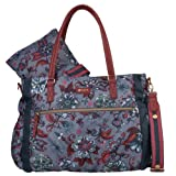 Oilily Wickeltasche Baby Bag Sea of Flowers, Farbe:Rock