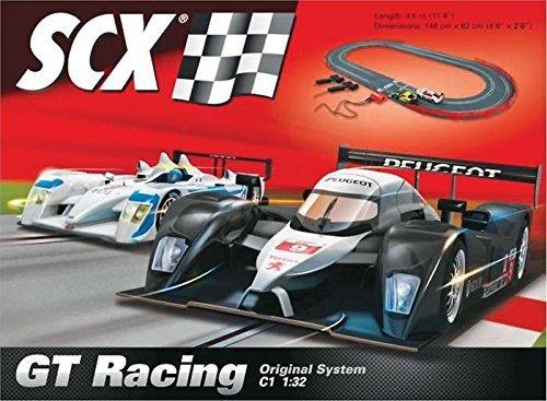 SCX GT Racing 1:32 Scale Slot Car Race Track Set by SCX Slot Cars