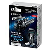 Braun-Series-9-9095CC-Mens-Electric-Foil-Shaver-Wet-and-Dry-with-Clean-and-Renew-Charger-Rechargeable-and-Cordless-Razor