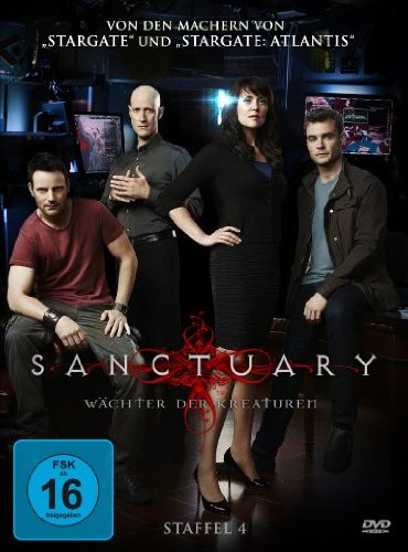 Sanctuary - Wächter der Kreaturen - Staffel 4 [4 DVDs]