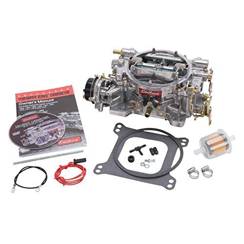 Edelbrock 1406 Performer 600 CFM Square Bore 4-Barrel Air Valve Secondary Electric Choke Carburetor (Carburetor 350 Cfm compare prices)