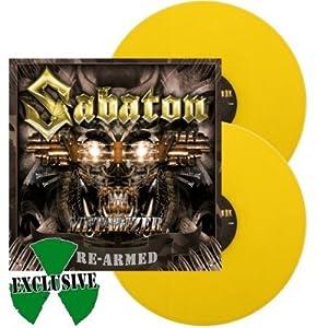 SABATON, Metalizer (re-armed) YELLOW VINYL - 2LP