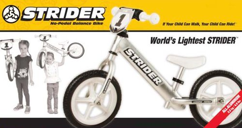 STRIDER™ ST-PRO Ultra Lightweight ALUMINUM Balance Bike (Toddler / Child)