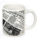 Fashion Envoy White Ceramic Coffee Mug