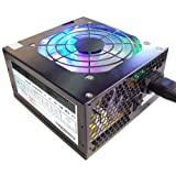 CIT 650w Titan 12CM Neon Fan Atx Power Supplyby Colors IT